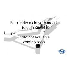 FOX Sportauspuff Endschalldämpfer Opel Astra F Stufenheck 1-Punkt-Aufh. 1x80mm