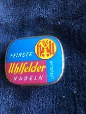 UHLFELDER NADELN Gramophone Needle Can No Needle Tin Cans   Used Nadeldosen