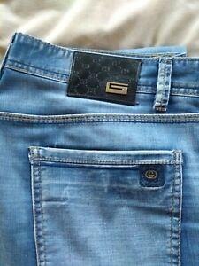 Gucci Jeans Mens W34 100% Genuine