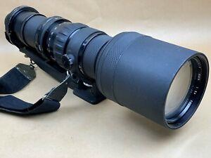 Nikon 600mm f/5.6 Nikkor-P Auto Non Ai Nippon Kogaku Japan Tele Lens No. 600172