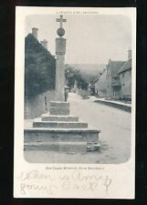 Gloucestershire Glos STANTON Old Cross Used 1905 PPC by J Jacques Jr