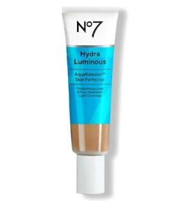 No7 Hydra Luminous Aqua Release Skin Perfector -30ml Tinted Moisturiser - LIGHT
