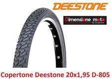 "Copertone ""DEESTONE"" 20x1,95 D-805 Nero Stradale per Bici 20"" MTB Mountain Bike"