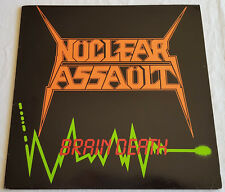 Nuclear Assault ‎– Brain Death - EP - 1986 - Rare First Press without Barcode!
