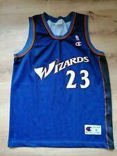 Jordan #23 Washington Wizards Vintage Champion NBA Basketball Jersey L Shirt