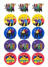 Edible Cupcake Toppers WIGGLES PRE CUT - Highest Australian Quality