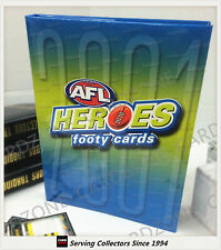 AFL TRADING CARD OFFICIAL ALBUM--2001 ESP AFL Heroes Card Album ( WITH 20 PAGES)