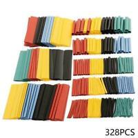 328pcs Cable Heat Shrink Tubing Sleeve Wire Wrap Tube Assortment Kit-Set 2: U3Z4