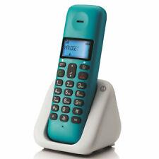 TELEFONO CORLESS MOTOROLA T301 PLUS VIVAVOCE RUBRICA ID CHI E' 5 SUONERIE VERDE