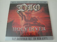 Ronnie James Dio: Holy Diver- Live  3 LP, 180 Gram RED Vinyl