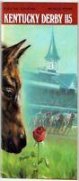 1989 KENTUCKY DERBY HORSE RACING PROGRAM - SUNDAY SILENCE & EASY GOER!