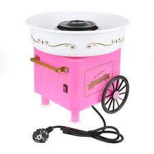 Zuckerwattemaschine Zuckerwatte Maker Rosa Zuckerwattegerät Mit Wagen 500W Top