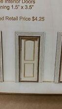 Arched 2 panel interior door 1:24 scale