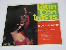 Bud Shank Latin Contrasts LP WP-1281 World Pacific A-826 B-826 Deep Groove