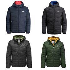 Jack & Jones Mens Puffer Jacket Regular Fit Long Sleeve Winter Full Zip Up Coats