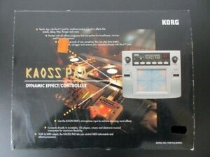 Korg - Kaoss Pad - KP-1 KP1 - Effektprozessor mit OVP (AFX/WARP/AUTECHRE)