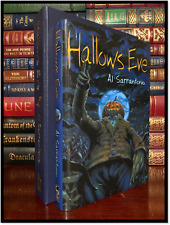 Hallow's Eve ✎SIGNED✎ AL SARRANTONIO Mint Cemetery Dance Hardback Lettered 1/26