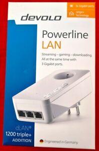 Devolo dLAN 1200 triple+ Powerline ADD ON Adapter 1200 Mbps , MT2887