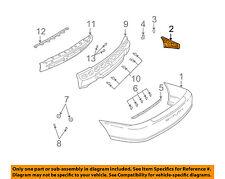 Saturn GM OEM 03-05 L300 Rear Bumper-Bumper Cover Guide Left 22707530