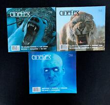 Cinefex Revue - 3 Éditions # 112,113, 117 - The Golden Compas, Watchmen