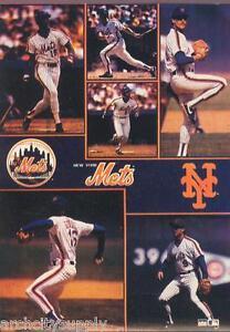 MONSTER POSTER: MLB BASEBALL: NY METS - 6 STARS - #PW-SLMP-METS  RAP125 C