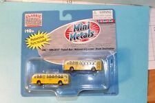GMC TRANSIT BUS ( NATIONAL TRANSIT LINES BLANK DEST) 52301  N SCALE  mini metals