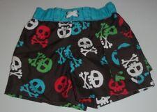 Wave Zone 12 Month Pirate Skull Crossbones Swim Trunks nwt UPF 50