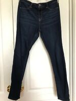 Women's Juniors  Hollister Advanced Stretch Jeans Size 17 High Rise Long Tall