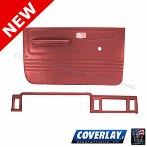 Red Interior Accs. Kit 12-112CN-RD For Bronco II Front Left Right -Coverlay