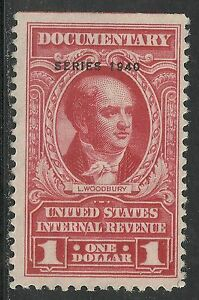 U.S. Revenue Documentary stamp scott r300 - $1.00 issue of 1940 - mng