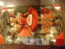 Nib Coca Cola Barbie Doll First In Series Waitress Car Hop Collector Edition