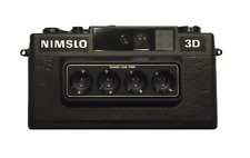 Nimslo 3D Quadra Lens 35mm Camera, Batteries, Box Tested ELNC CYBER MONDAY!!