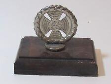 Vintage VW Volkswagen Hood Ornament Emblem Paperweight Desk Item Ornament Old!