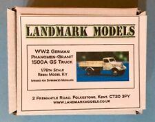 NEW!  1/76th WW2 GERMAN PHANOMEN-GRANIT 1500 GS  -  Landmark Models resin kit