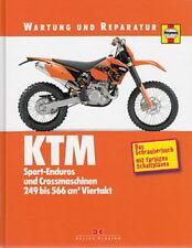KTM EXC/SX/SMR 250/400/450/520/525 Wartung&Reparaturanleitung/Reparatur-Handbuch
