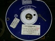 Belden 8103  3 pair 24 awg shielded      253 ft spool