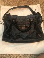 Balenciaga Hand Bag 115748 The city Black Leather 1301357