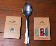 Two 1948 Tiny Golden Books Baby Camel & Naughty Father & Brave Father Gorilla