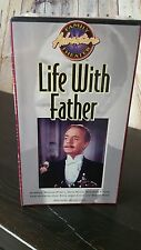 Sealed New Life With Father VHS Movie Metacom 1994 - William Powell - Taylor M