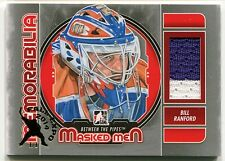 2012-13 ITG Between the Pipes Masked Men BILL RANFORD Game Used Patch Expo 1/1