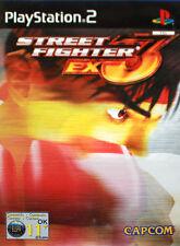 Street Fighter EX3 (Sony PlayStation 2, 2001) - European Version