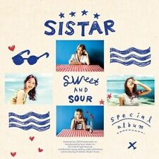 SISTAR [SWEET & SOUR] Special Album CD+PhotoBook+PhotoCard K-POP SEALED