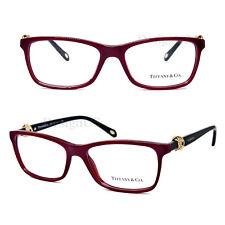 64f37a40e2 TIFFANY   CO. TF2104 8152 Red Black 53 16 140 Eyeglasses Rx Made