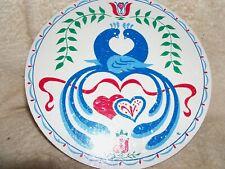 "CONESTOGA CRAFTS Hex Sign, 24"" Love Birds"