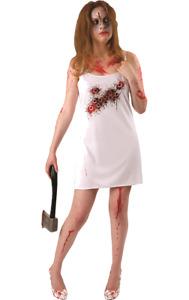Orion Costumes Womens Bullet Hole Halloween Horror Fancy Dress Costume