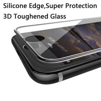 3D Full Curved Tempered Glass Screen Protector Apple iPhone 7 New - Clear
