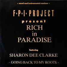 """F.P.I. PROJECT - RICH IN PARADISE EP (12"""") (VG-/VG)"""