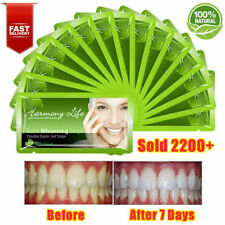 Teeth Whitening Stirps 14pack Tooth White Strips 6% hydrogen peroxide