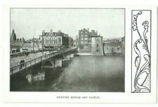 Postcard Newport Bridge Monmouth Castle