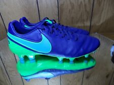 Nike Tiempo Legacy Ii Fg Soccer Cleats Blue Green 819218 443 Men's Size 8